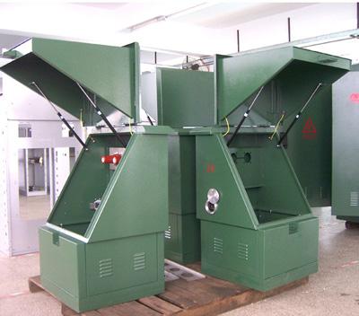 箱式变压站-dfw-12型10kv户外电缆分接箱-金盘电气,输